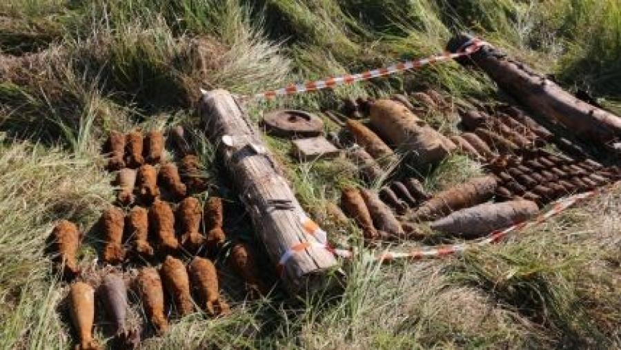 В Калужской области обезвредили снаряды времен ВОВ