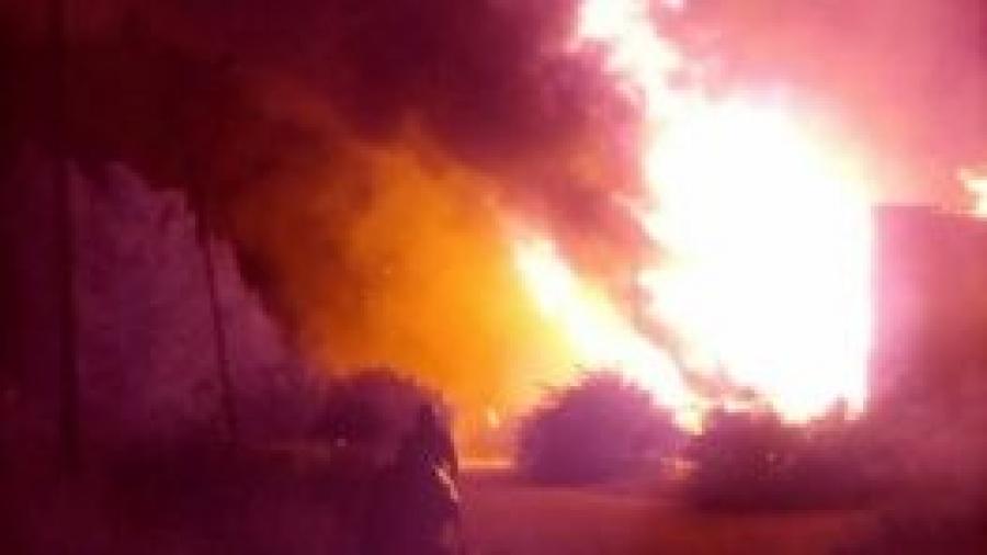 Ночью в Малоярославце горел дом