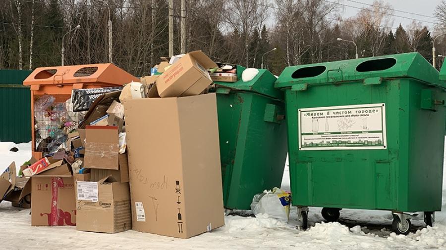 В Калужской области внедрят видеонаблюдение на мусорных площадках