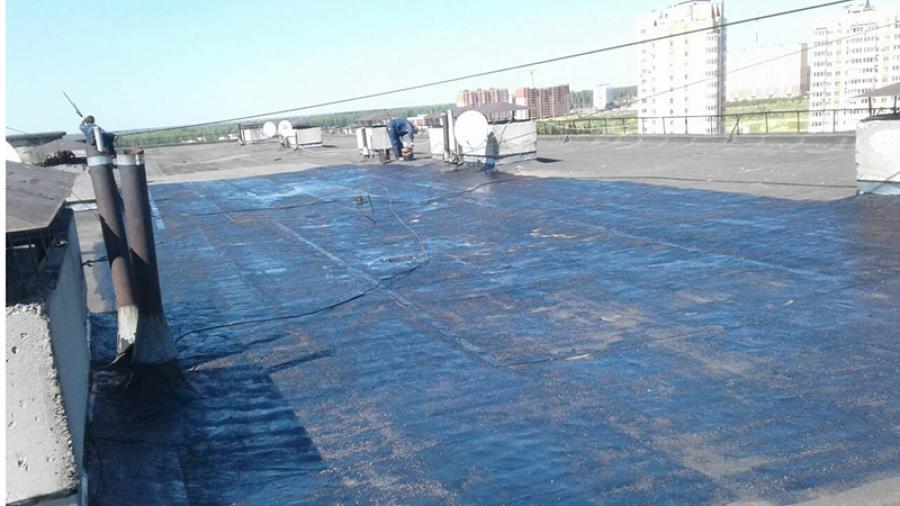 Жители Белкинской, 45 в Обнинске теперь могут не бояться дождя