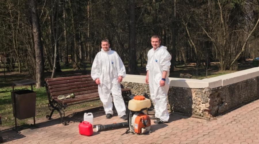 Во всех школах Обнинска проведут акарицидную обработку территорий до каникул