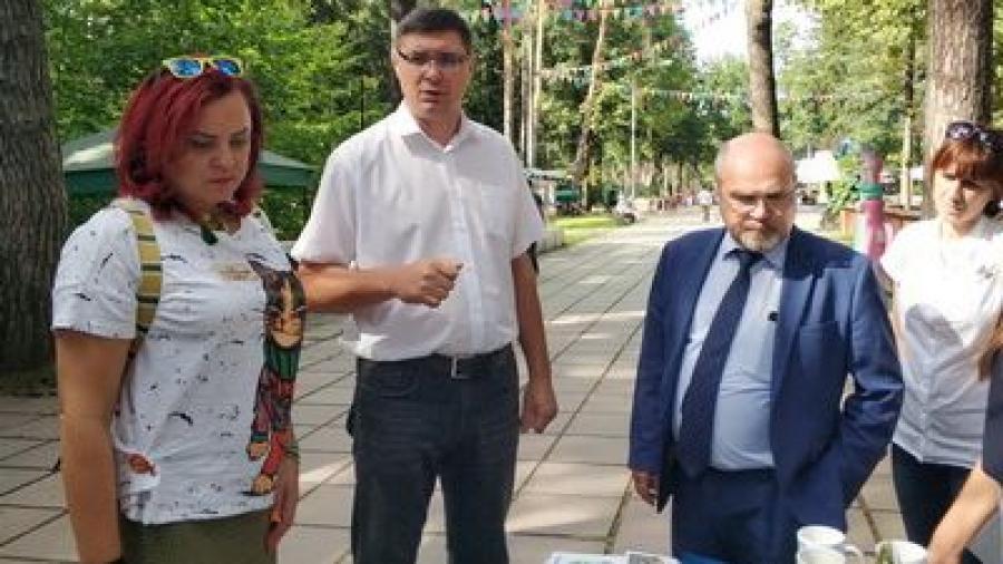 Депутат ГД Александр Авдеев высоко оценил перемены в обнинском Городском парке