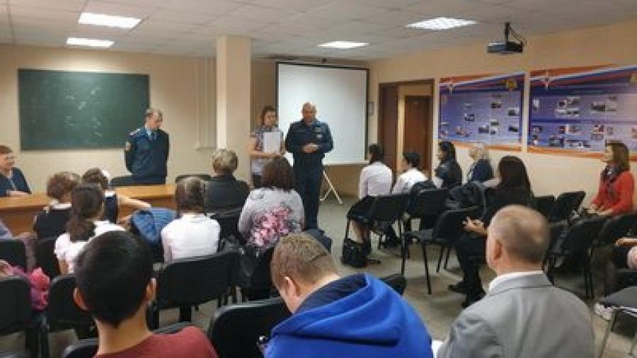 В Обнинске прошла олимпиада по пожарной безопасности