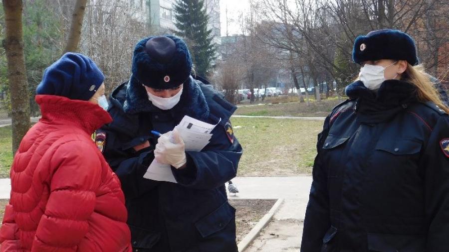 Обнинские полицейские патрулируют дворы