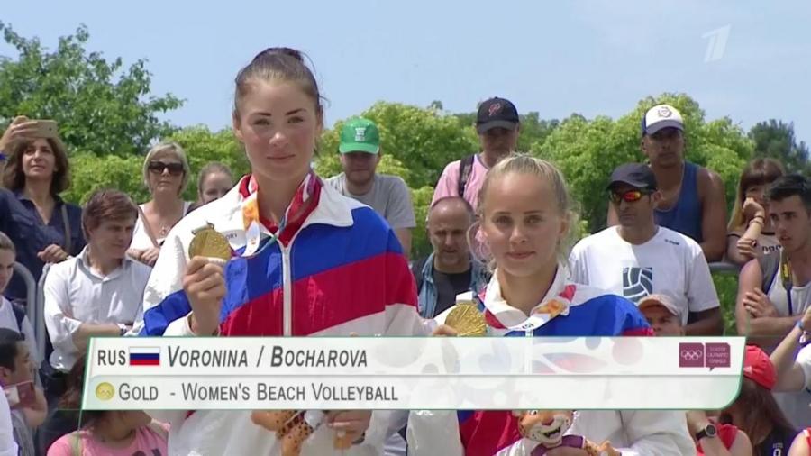 Победительницы Юношеских Олимпийских игр Бочарова и Воронина приехали в Обнинск всего на один день