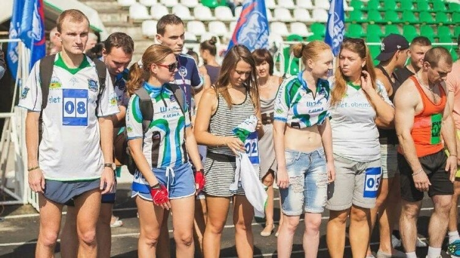 "150 обнинцев сдали нормы ГТО по бегу на стадионе ""Труд"""