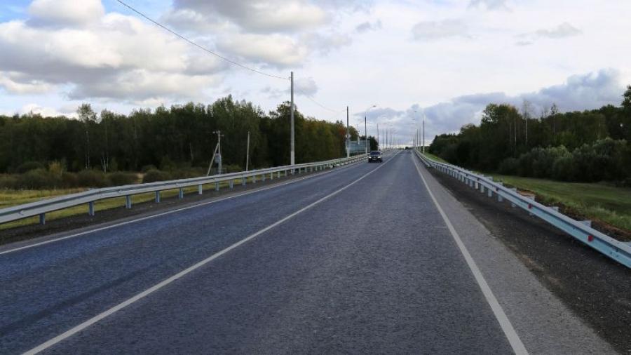 Возле Малоярославца завершили ремонт соединительной дороги между трассами А-130 Москва-Рославль и М-3 «Украина»