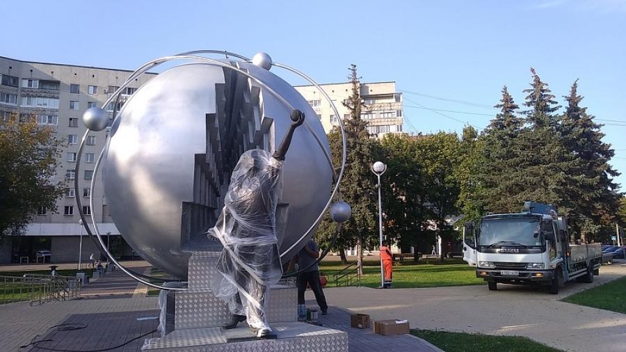 Памятник Первопроходцам атомной энергетики впервые реставрируют
