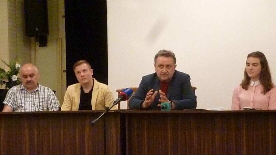 Обнинский режиссер Сергей Варицкий рассказал журналистам о своем новом фильме – документальной «атомной» драме «Поколение зубров»