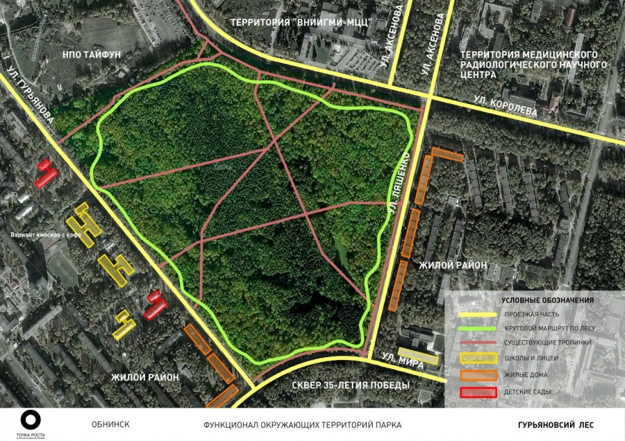 В Обнинске представили дизайн-проекты трех общественных территорий, которые предлагают обустроить в 2018 году