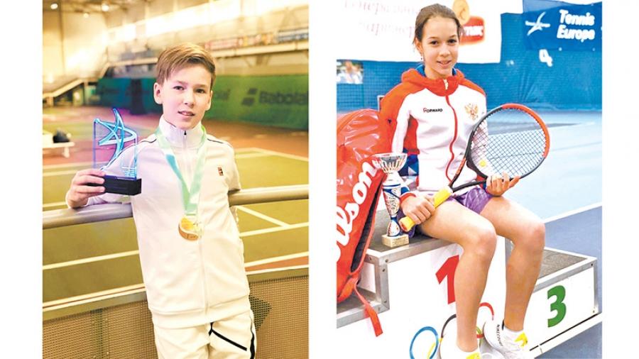Обнинские теннисисты — члены сборной команды России