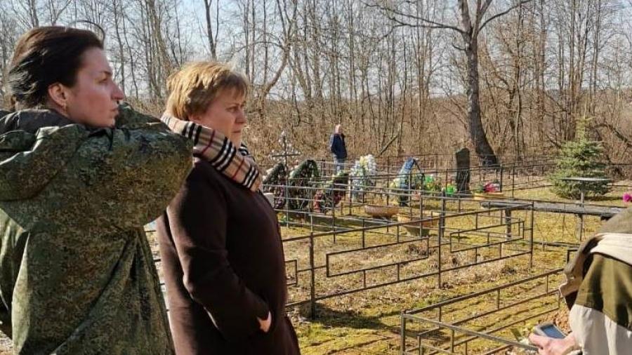 В Боровском районе кладбища перестанут быть лесами