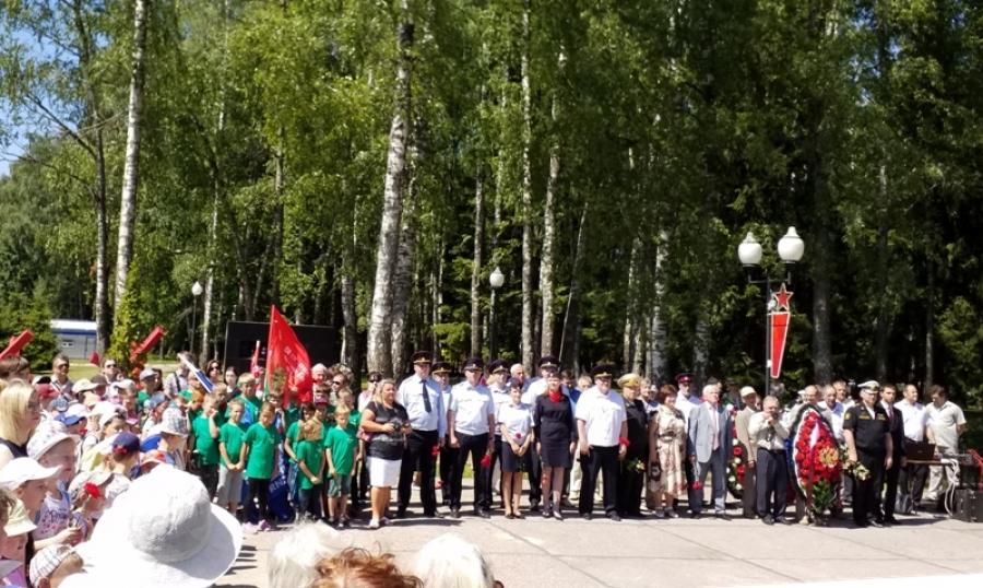В Обнинске прошел митинг, посвященный очередной годовщине начала Великой Отечественной войны