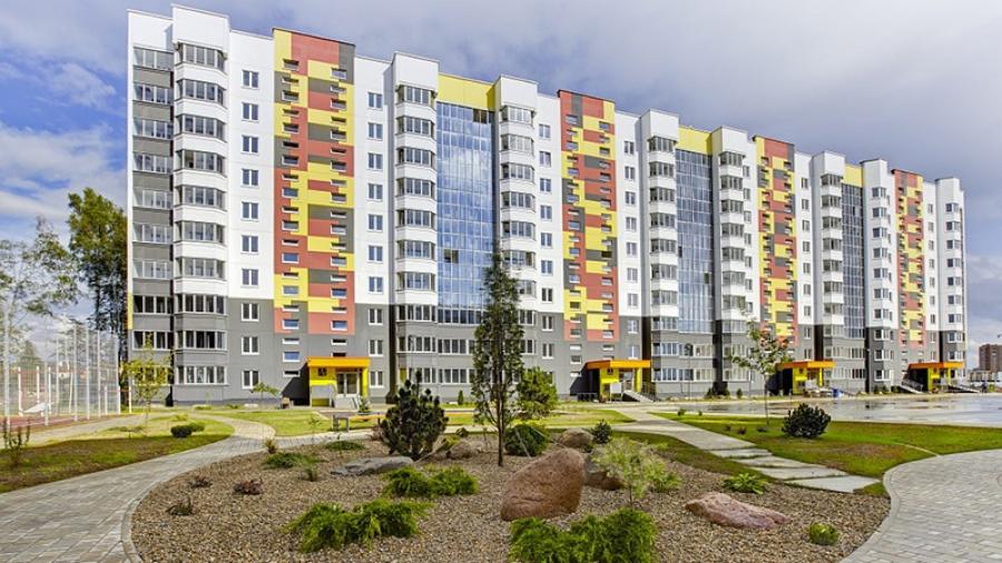 200 оттенков зеленого: в жилом комплексе «Белорусский квартал» создан единственный в Калужской области дендропарк