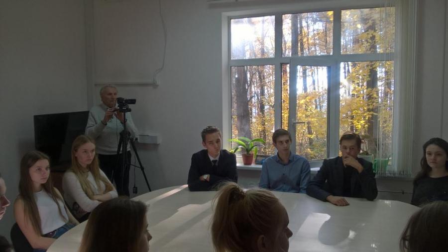 Обнинские школьники встретились с участником пуска Первой в мире АЭС