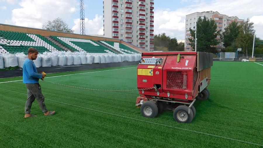 Реконструкция городского стадиона завершается, и в следующую субботу обнинский «Квант» на своем поле встретится с «Сатурном» (Раменское)