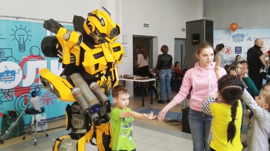 В Обнинске роботы показали, на что способны