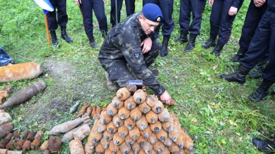 """Калужские поисковики из отряда """"Русь"""" нашли останки 239 бойцов Красной Армии"""