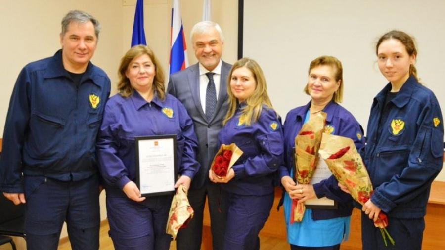 Врачей сводного отряда ФМБА официально поблагодарили за проведенную в Обнинске диспансеризацию