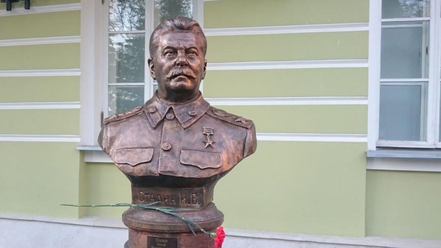 К городскому Голове Калуги обратились с просьбой поставить памятник Сталину