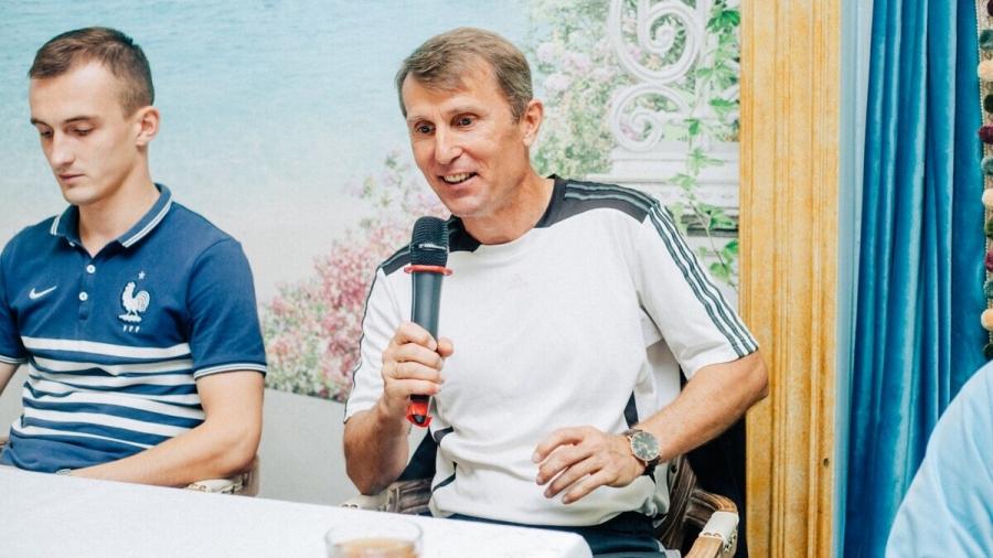 ФК «Квант» впервые встретился со своими болельщиками в неформальной обстановке