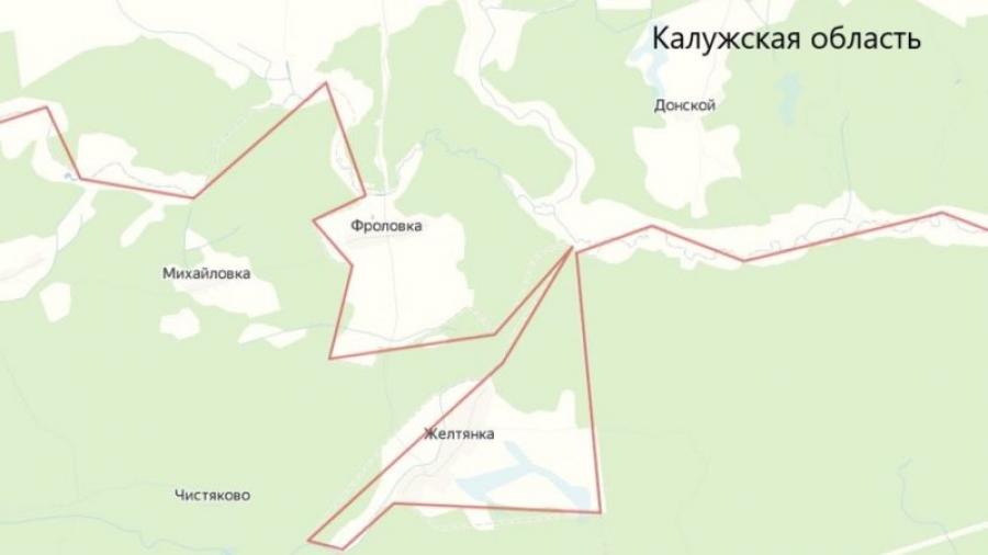 Граница между Брянской и Калужской областями изменится