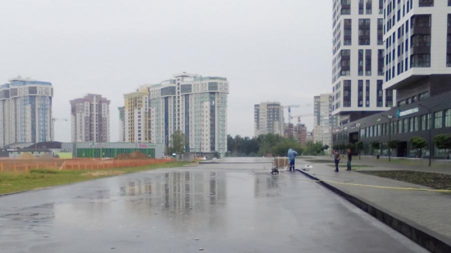 В Обнинске осушили «водную гладь» у Циолковского