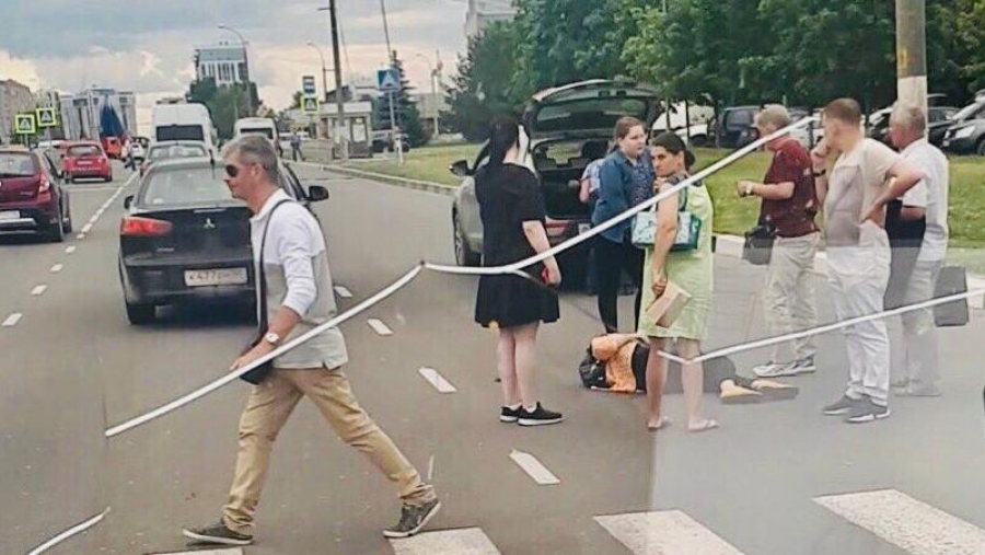 В Обнинске пьяный водитель сбил женщину на пешеходном переходе и скрылся.