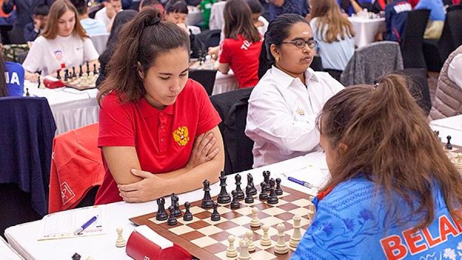 Анна Афонасьева заняла 8-е место на первенстве мира по шахматам до 18 лет