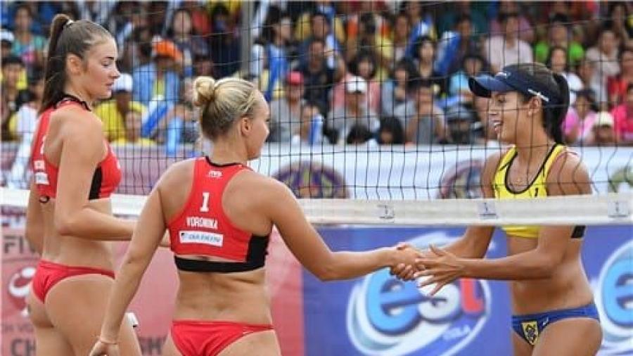 Бочарова и Воронина стали серебряными призерами чемпионата мира по пляжному волейболу U-21