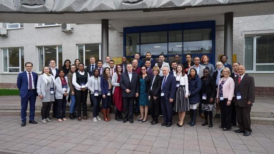 В Обнинске проходит первая в России школа по радиационным технологиям Всемирного ядерного университета