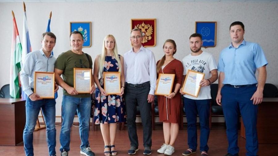 В Обнинске наградили спортсменов и физкультурников