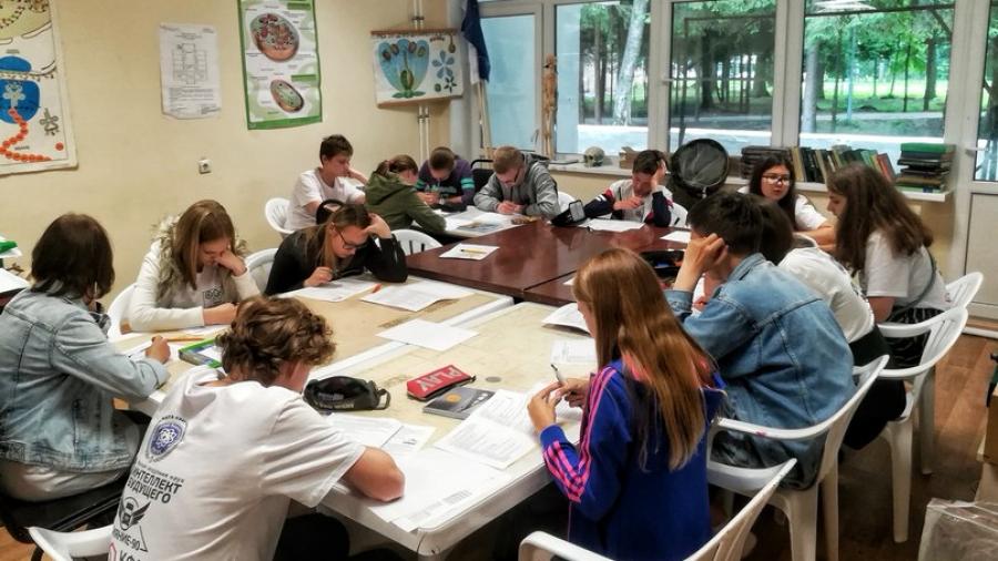 Сегодня в Обнинске завершается весенняя смена «Биошколы олимпийского резерва»