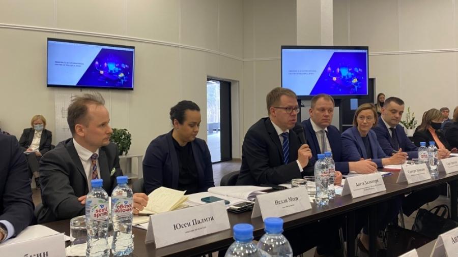 Обнинск посетила финская делегация