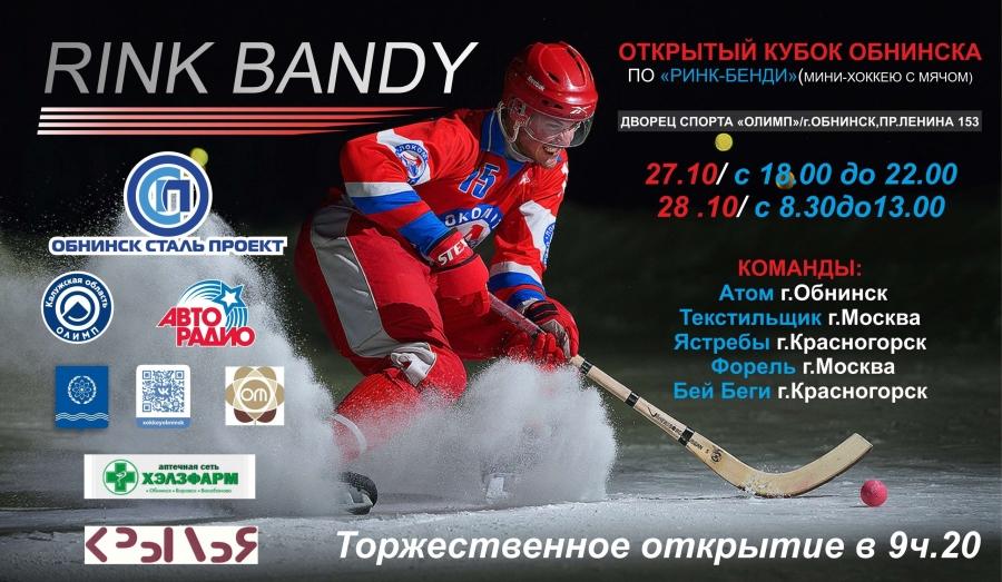 В ближайшие выходные в Обнинске пройдет Открытый кубок города по мини-хоккею с мячом