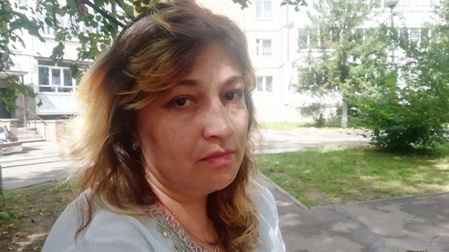 Беженке из Луганска Кристине Чебан предложили сдать ребенка в Дом малютки