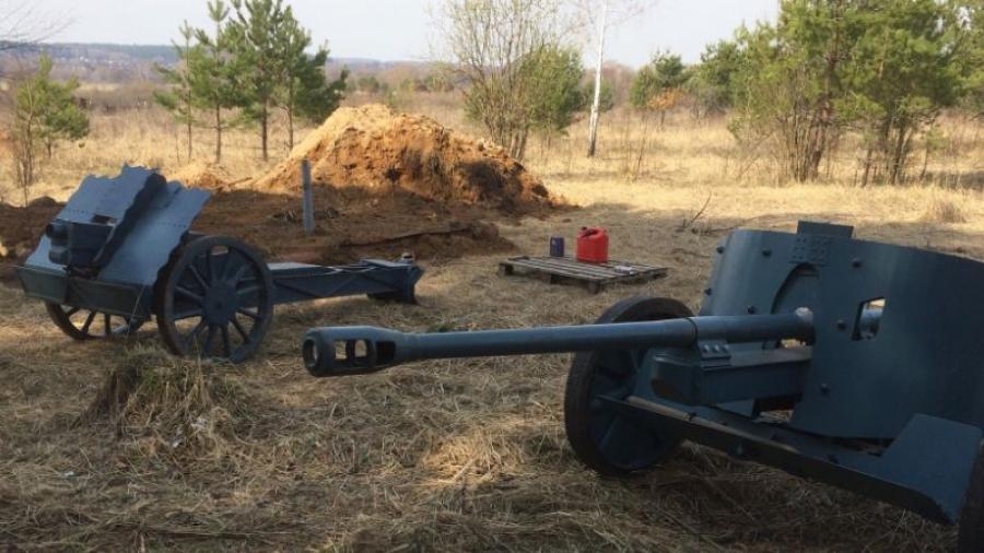 Под Обнинском проходит военно-исторический фестиваль