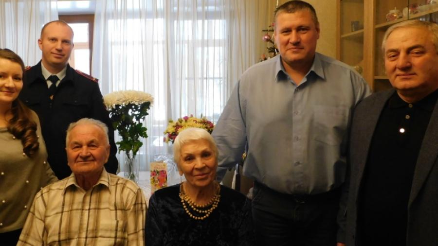 В Обнинске поздравили ветерана МВД