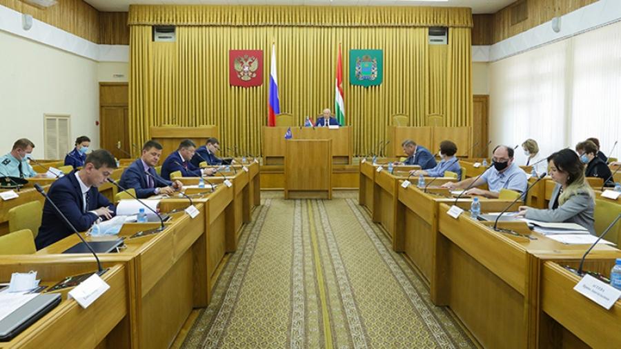 Областные депутаты поддержали новые законы, которые защитят доходы граждан