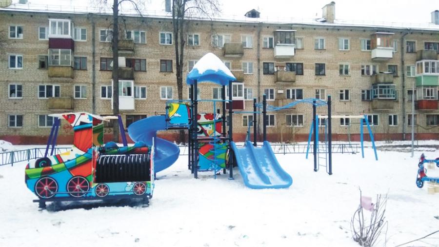 В Обнинске все еще не завершили благоустройство дворов по программе «Комфортная среда»