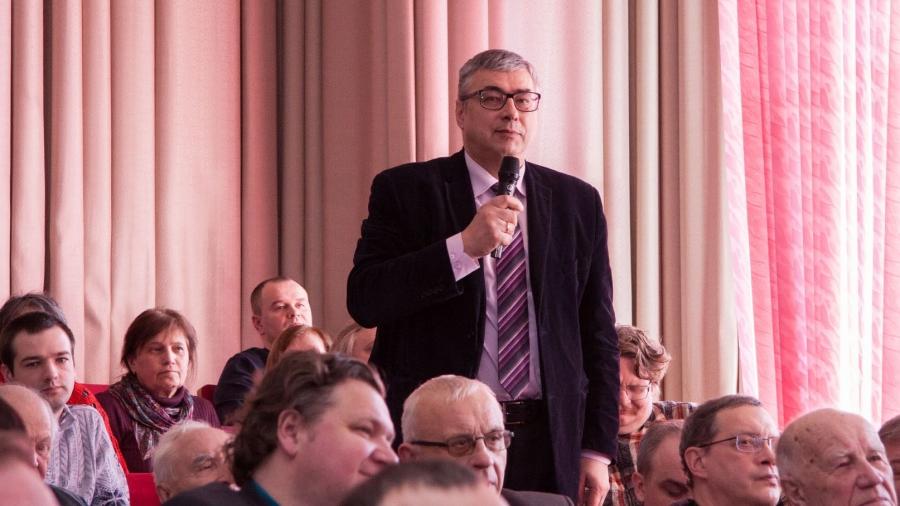 Депутат Госдумы Геннадий Скляр рассказал сотрудникам обнинского ФЭИ об Атомном Сколково и северной агломерации
