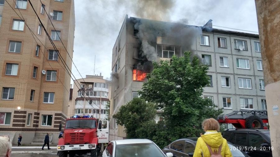 В Малоярославце при пожаре сгорела пенсионерка