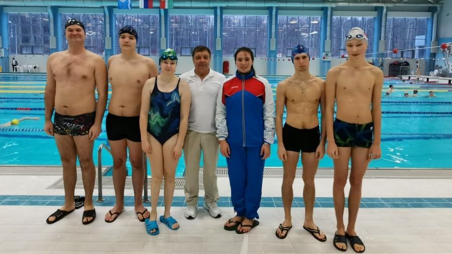Особенные пловцы из Обнинска завоевали букет наград на областном первенстве