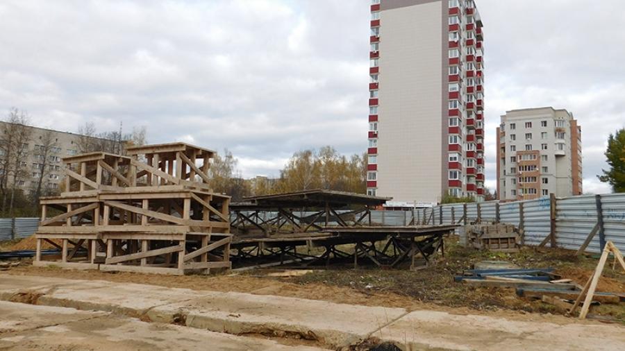 """Что появится около обнинского стадиона """"Труд"""" – еще один жилой дом или спортзал?"""