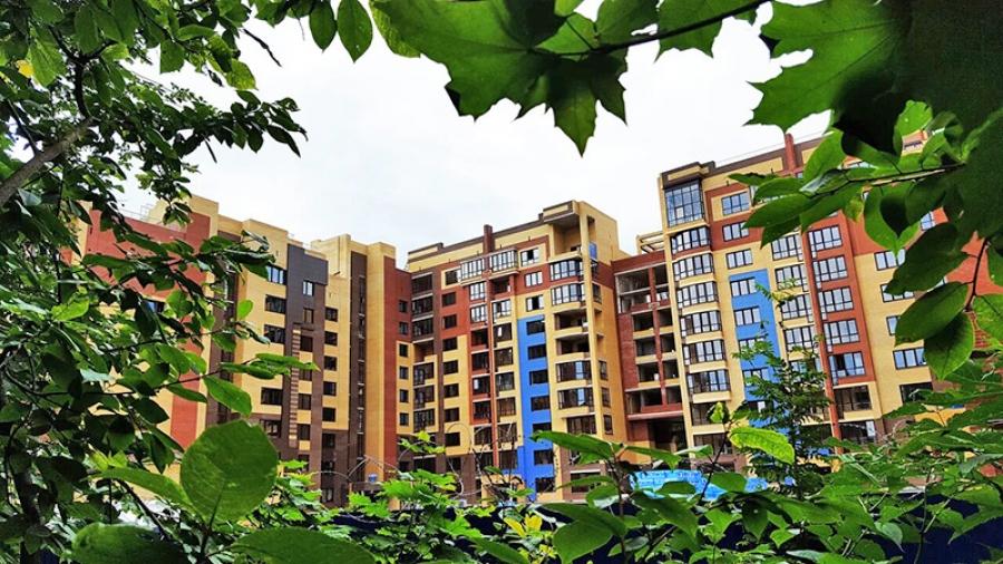 В новом обнинском ЖК «Звездный городок» первые жильцы скоро отпразднуют новоселье