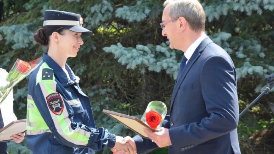 Единственная в России женщина в составе мотобата служит в Калужской области