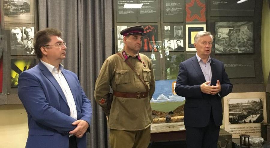 """В музее """"Ильинские рубежи"""" открыли новую экспозицию"""