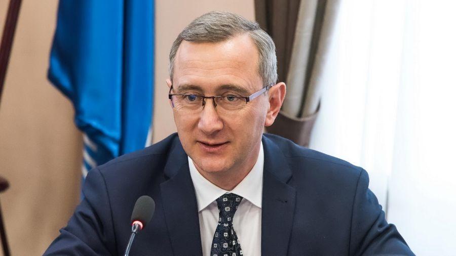 Владислав Шапша выступил с обращением к жителям области