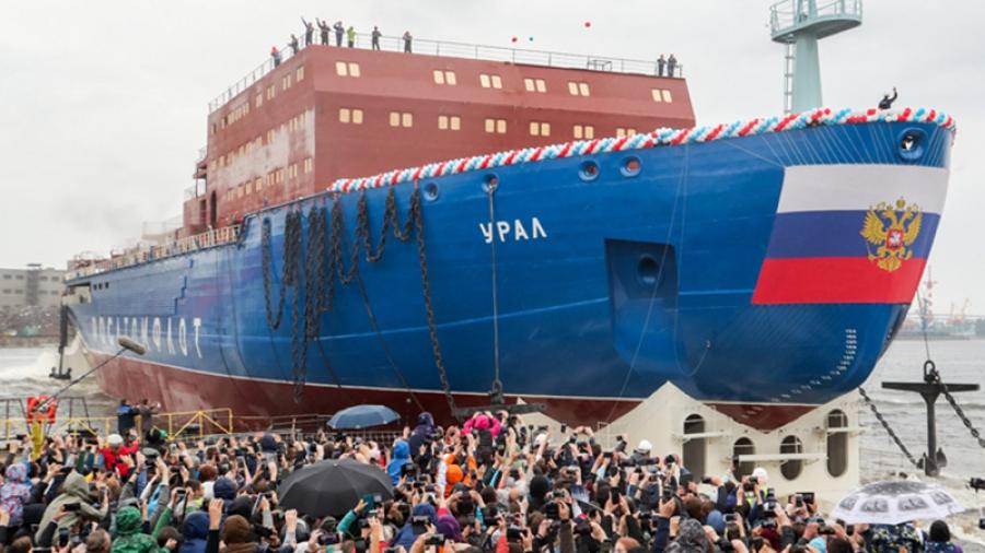 Крупнейший в мире атомный ледокол будет оборудован фильтрами, созданными в Обнинске