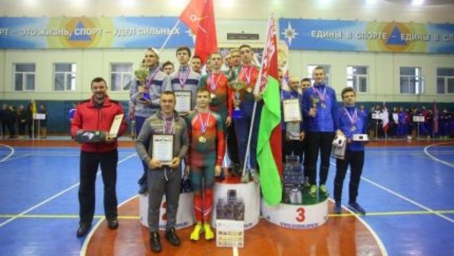 Команда Калужской области стала третьей на международных соревнованиях по пожарно-прикладному спорту